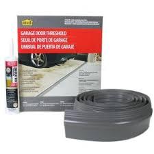 garage door threshold lowesTsunami Seal 10 ft Gray Garage Door Threshold Kit51010  The