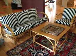 bamboo furniture designs. Bamboo Furniture Idea Vintage Mid Century Reed Rattan Set 6 Piece Painted . Designs
