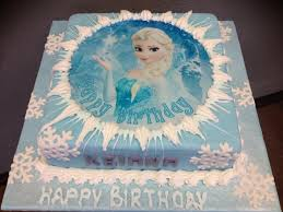 Selling Elsa Theme Birthday Cake A 11000 Powered By Santucom