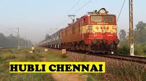 Image result for hubli - chennai train
