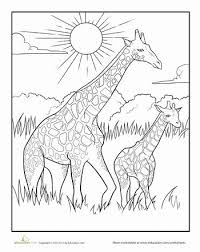 Baby Giraffe Coloring Pages Elegant Giraffe Coloring Awesome Baby