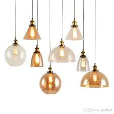 whole pendant lighting fixtures modern glass kitchen lighting kitchen light fixture vintage pendant lights american amber glass grey pendant light
