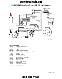 good all model 11 602 w regulator parts list wiring diagram schematic click here for a printable parts list wiring diagram and troubleshooting steps