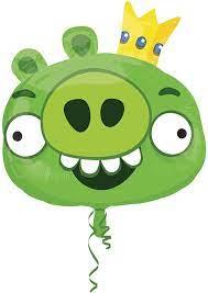 Amazon.com: Angry Birds King Pig Mylar Balloon : Toys & Games