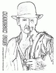 Indiana Jones Coloring Pages Free Coloring Home