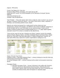 Family Tree Maker 2011 Part 5a