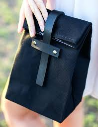 leather lunch boxes black box metal rivets bag india leather lunch boxes