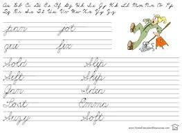 Printable Cursive Alphabet Practice Sheets Free Cursive Handwriting