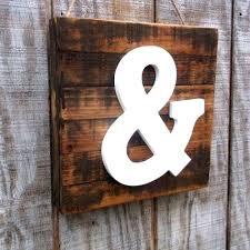 ampersand decor rustic barn wood ampersand sign for home decor ampersand decoration ampersand decor wooden ampersand sign gallery wall
