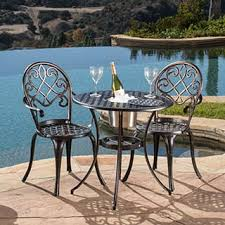 Best Choice Products Outdoor Patio Furniture Wicker 3pc Bistro Set Bistro Furniture Outdoor