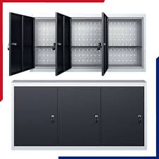 wall mounted tool cabinet industrial
