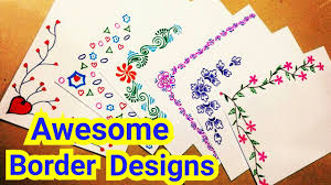 Chart Decoration Ideas For School Chart Paper Border Decoration Ideas For School