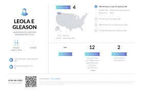 Leola E Gleason, (509) 466-0409, 1002 W Sunny Creek Cir, Spokane ...