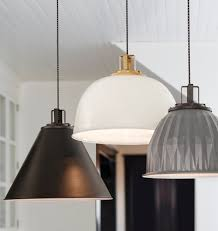 She Lights Helios Dome Pendant Light in White