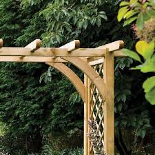 forest ultima pergola arch large
