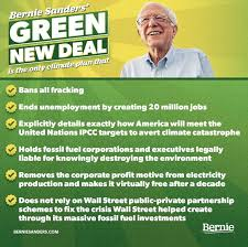 Bernie's Green New Deal really is the best choice for any ...