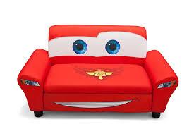 com delta children s s disney pixar cars upholstered sofa toys