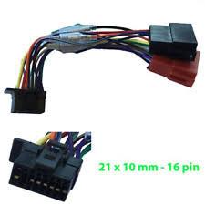 sony car radio stereo 16 pin iso cdx mex wiring harness loom lead Wiring Sony Mex-N5000bt iPod Cord sony iso wiring harness wx gt90bt wx gt80ui mex bt3150u cdx dab500u
