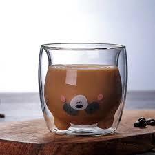 Креативная прозрачная стеклянная кофейная <b>кружка</b> с...