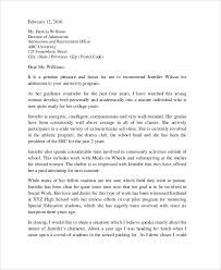 academic reference letter reference letters