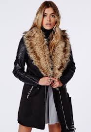 perfect solution of winter faux fur coat