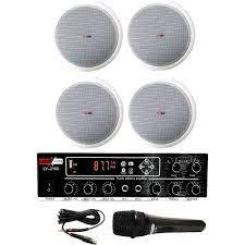 Lastvoice Medium-2 Tavan Hoparlör ve Anfi Ses Sistemi Paketi Fiyatı