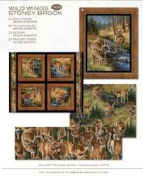 Here is just a deluxe cotton quilting fabric panel by artist ... & fabric http://www.springscreative.com/ Adamdwight.com