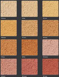 Weber Monocouche Colour Chart Weber Parex And Vimark Render