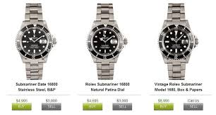 buy pre owned rolex watches for at bob s watches buy rolex submariner bob s watches buy and sell prices