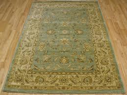 ziegler 7709 light green cream rug