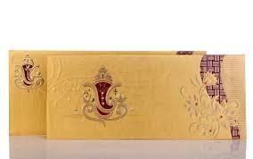 ganesha wedding card in bright golden & maroon colour wedding Wedding Invitation Ganesh Pictures ganesha wedding card in bright golden & maroon colour Ganesh Invitation Blank