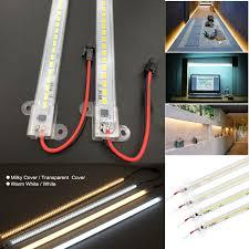 Diy Smd Led Light Details About 72 Led Rigid Light Bar Tube Strip 2835 Smd Diy Counter Showcase Lamp 220v Rc849