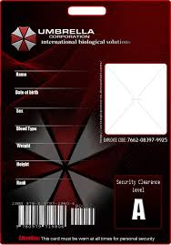 Blank Id Card Template Adorable Blank Umbrella ID By KasuKitty On DeviantART Cosplay ID Card