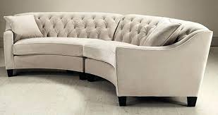 curved sofa leather sectional sofa