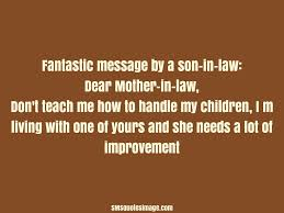 Funny Quotes About Son In Laws