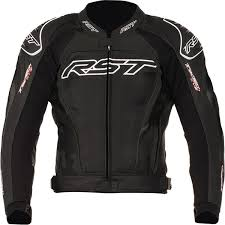 rst tractech evo 2 leather jacket black thumb 0