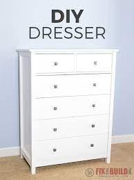 diy dresser 6 drawer tall dresser