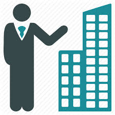 Buiding Manager Building Manager Office Presentation Realtor Realty Seller Icon