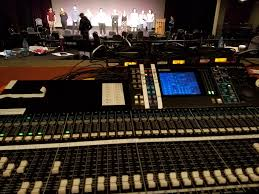The Lighting Guy Im A Lighting Guy Running Sound Luckily Its Only 4