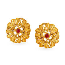 Diamond Earrings Designs Catalogue Buy Gold Diamond Earrings Online Latest Gold Earrings