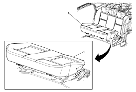 2006 impala rear seat cushion replacement