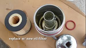 2015 Toyota Sienna How to Replace Oil Filter toy 640 - YouTube