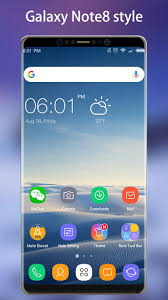Theme Downloads Note 8 Launcher Galaxy Note8 Launcher Theme Apk Download For Android