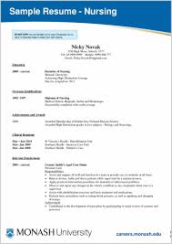 Fresh Idea To Graduate Nurse Resume Samples 281212 Resume Ideas