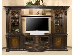 Wall Media Cabinet Fairmont Designs Grand Estates Entertainment Center W 2 Glass
