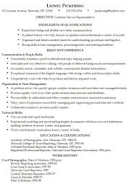 Skills And Attributes For Resume - Hlwhy