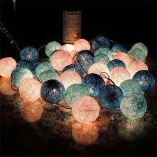 <b>3M 20 Led</b> Romantic Cotton BALL String Light For Christmas ...
