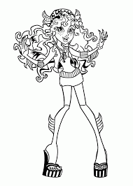 Small Picture Coloring Pages Lagoona Blue Monster High Coloring Pages For Kids