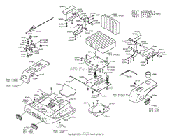 dixon ztr 4423 (1999) parts diagrams Residential Electrical Wiring Diagrams at Ztr 4423 Wiring Diagram