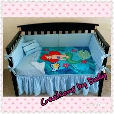 little mermaid crib bedding the little mermaid crib bedding set by